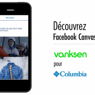 Facebook Canvas: Vanksen et l'univers Columbia