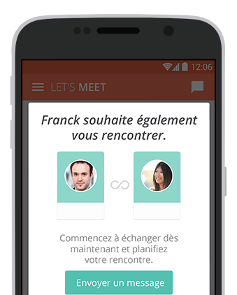 Application mobile rencontre geolocalisation