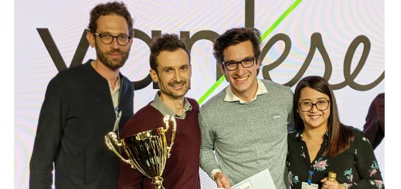 Vanksen remporte l'or dans la Google OptiScore Race !