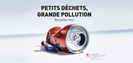 Une nouvelle campagne anti-pollution au Luxembourg