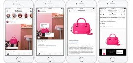 Instagram facilite l'e-commerce avec Shopping