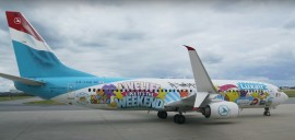 """Art is in the air"" : Luxair et SUMO collaborent"